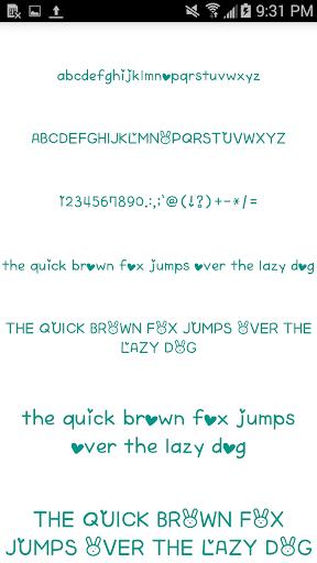 Color Fonts for FlipFont #6 3.22.0 screenshots 4