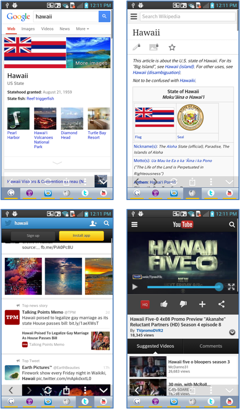 Multi Search(Google,Yahoo,...) - screenshot