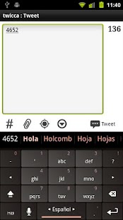 Spanish Keyboard plugin- screenshot thumbnail