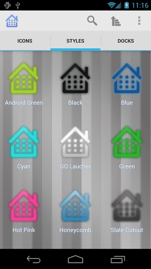 Droidicon - Icon Pack - screenshot