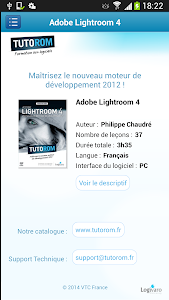 Tuto Adobe Lightroom 4 screenshot 1