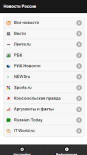 RU News. Новости России