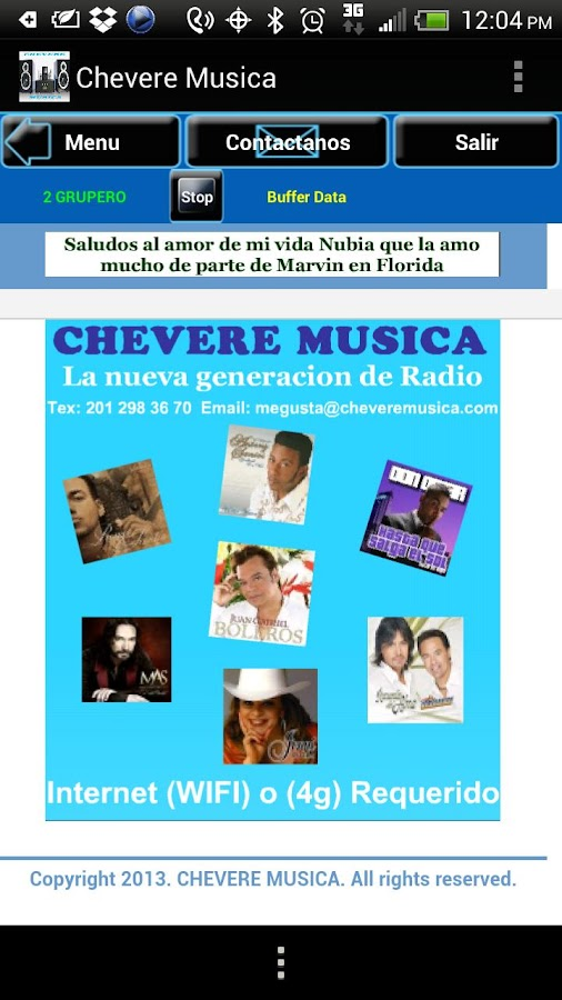 CHEVERE MUSICA - screenshot