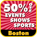 50% Off Boston Events logo