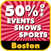 50% Off Boston Events