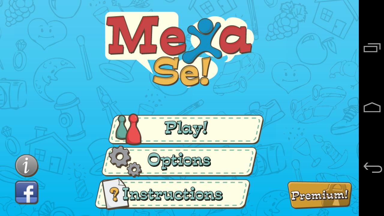 Mexa-se! Charades - screenshot