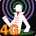 4G technology LTE icon
