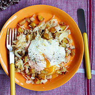Rach's Hash & Fried Eggs.