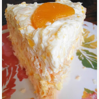 Coconut Orange Cake.