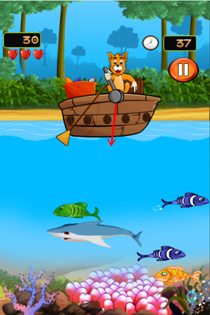 Fishing cat 3 9 2 apk free action game apk4now for Fish cat game