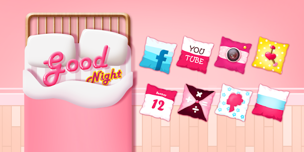Good Night GO Launcher Theme- screenshot thumbnail