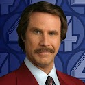Ron Burgundy Quoter logo