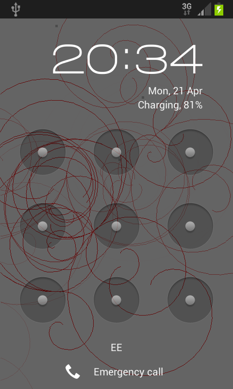 Cloud Chamber Live Wallpaper- screenshot