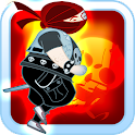 Mighty Metal Ninja Run HD icon