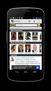 WebApps for Android screenshot 4