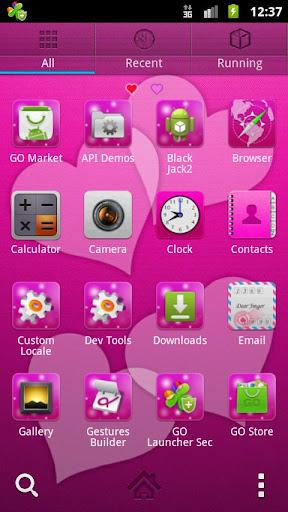 無料个人化AppのランチャーEXラブリーハーツGO|記事Game