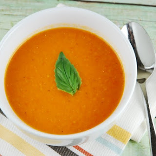 Creamy Tomato Soup With Fresh Tomatoes Recipes.