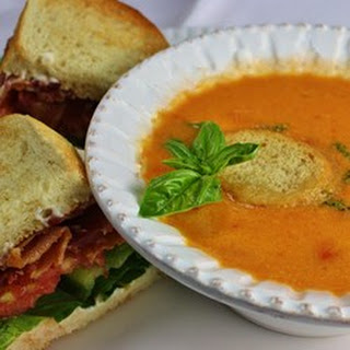 Sweet and Chunky Tomato Soup