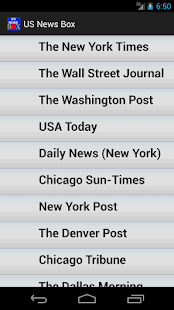USNewsPapers- screenshot thumbnail