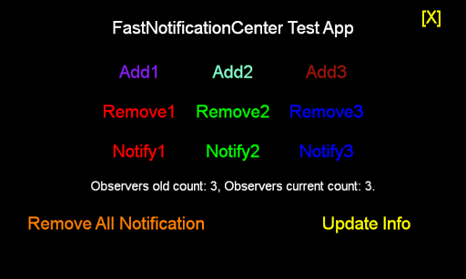 FastNotificationCenter Demo