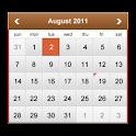 Kalender-Widget icon
