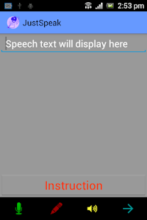 JustSpeak - screenshot thumbnail