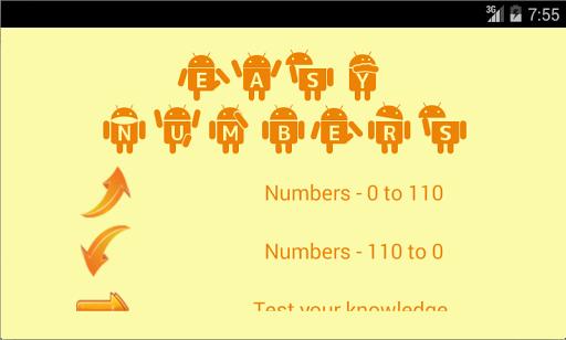 Easy Numbers