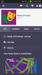 Mardi Gras Party-Parade Guide - screenshot thumbnail