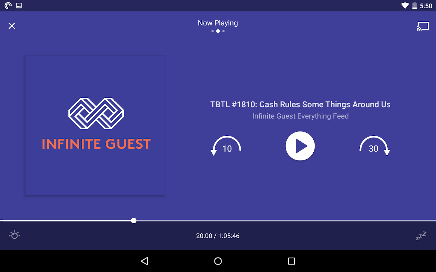 Pocket Casts – скриншот