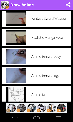 Draw Anime - Manga Tutorials 2.1.1 screenshots 5