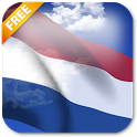 3D Netherlands Flag icon