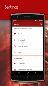 CM12 Red Pop Theme v6.a