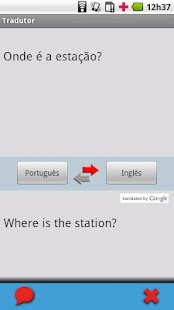Portuguese (Brazil) - English - screenshot thumbnail