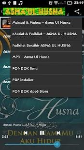 ASMA UL HUSNA - 99 Nama ALLAH - náhled