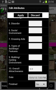 Lincoln Walkability Grader- screenshot thumbnail