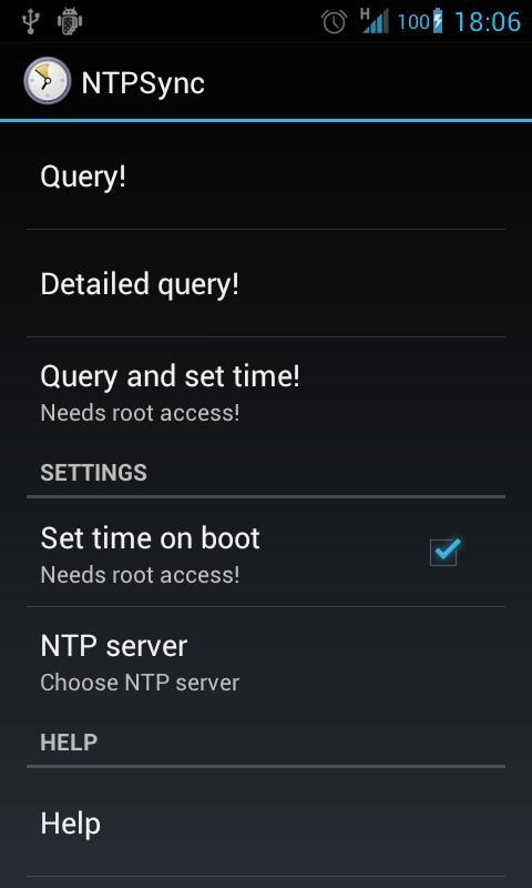 NTPSync - Time Synchronization- screenshot