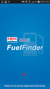 Exxon Mobil Fuel Finder - screenshot thumbnail