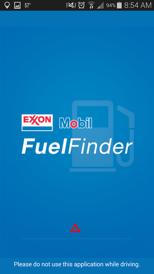 Exxon Mobil Fuel Finder - screenshot