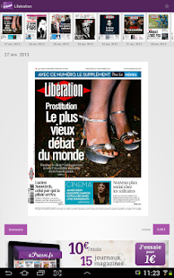 Le kiosque ePresse.fr - screenshot thumbnail