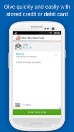 Givelify Mobile Giving App Screenshot 5