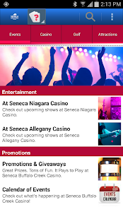 Seneca Buffalo Creek Casino- screenshot thumbnail