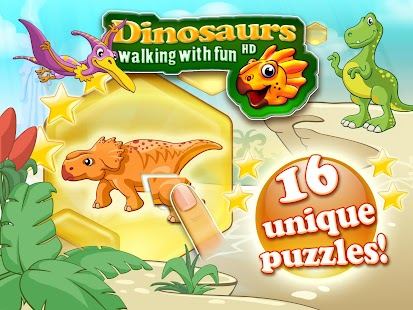 Dinosaurs walking with fun XL