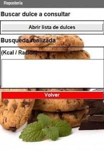 Guía de calorías de alimentos- screenshot thumbnail