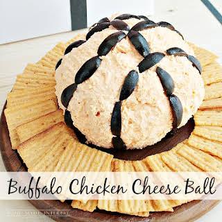 Buffalo Chicken Cheese Ball.