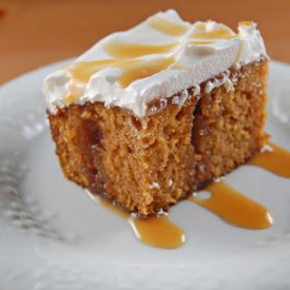 Caramel Pumpkin Cake.