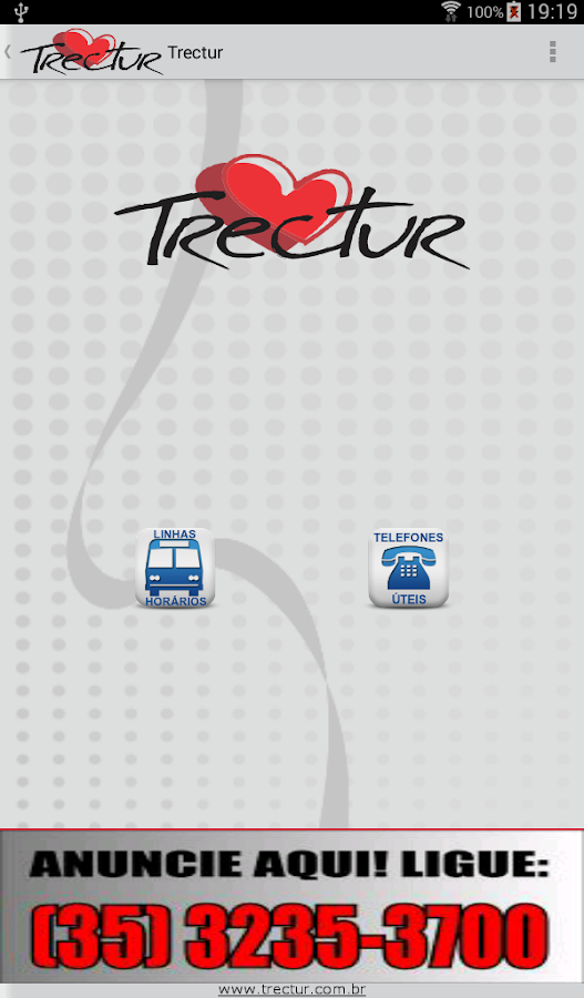 Trectur- screenshot