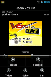 Rádio Vox FM 97,7- screenshot thumbnail