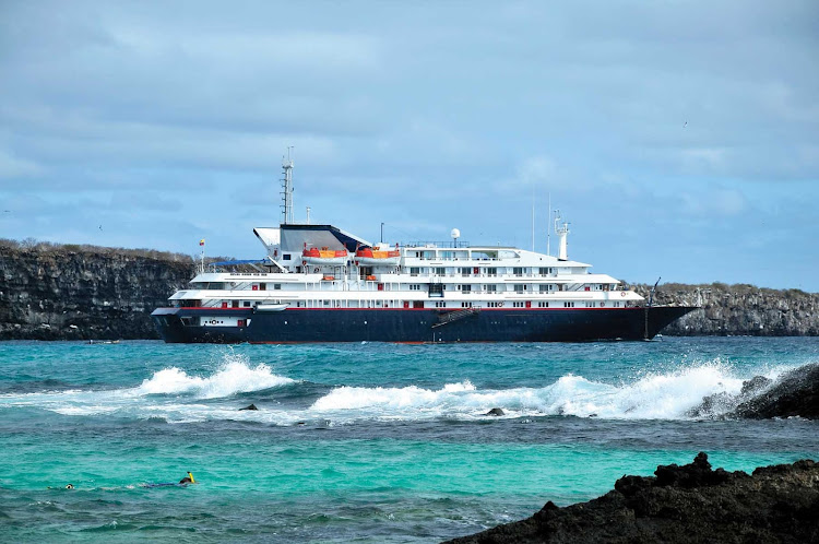 Silver Galapagos carries 100 passengers, and every suite has an ocean view.
