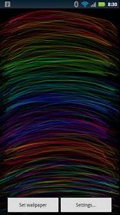 Plasma Trails LWP- screenshot thumbnail