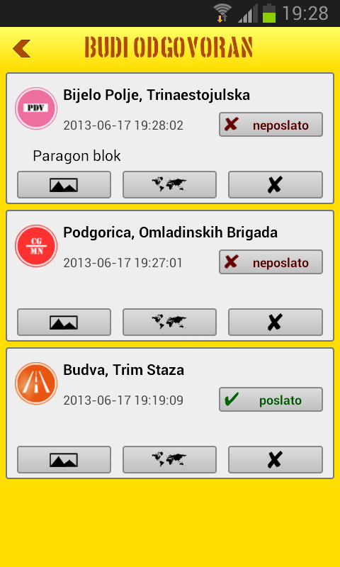 Budi Odgovoran- screenshot